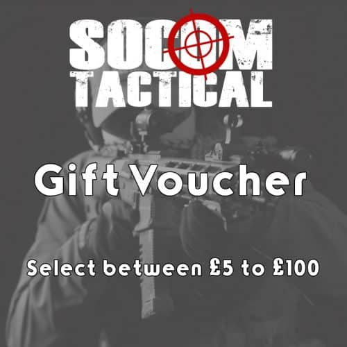 Socom Tactical gift voucher