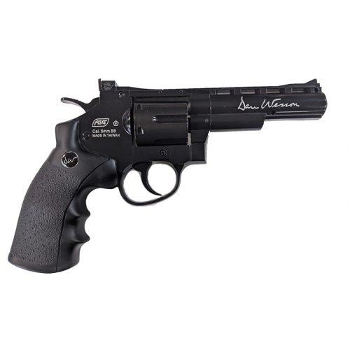 """dan wesson co2 revolver 4"""" barrel black reconditioned main"""