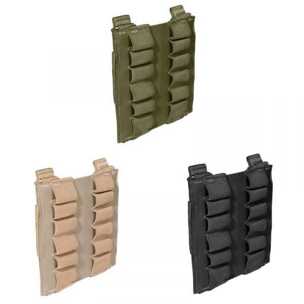 5.11 12rd shotgun shell pouch panel - all