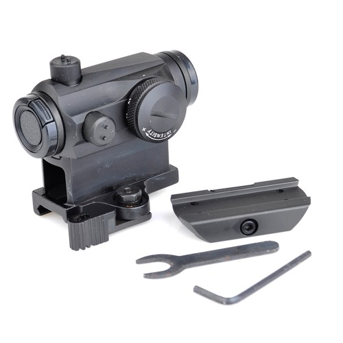 aim-o t-1 dot sight with qd mount and low mount 4