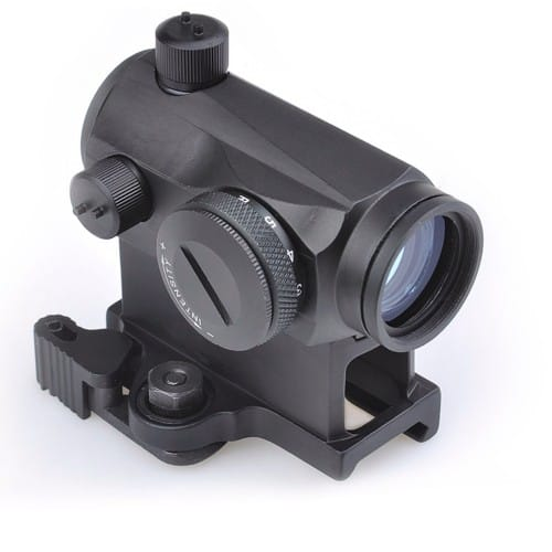 aim-o t-1 dot sight with qd mount and low mount 3