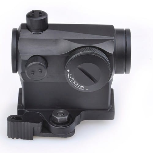 aim-o t-1 dot sight with qd mount and low mount 2