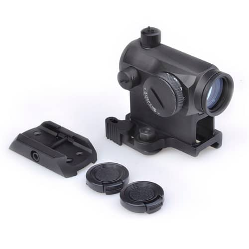 aim-o t-1 dot sight with qd mount and low mount