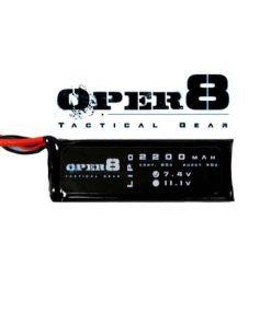 Oper8 7.4v Lipo Block 2200MAH