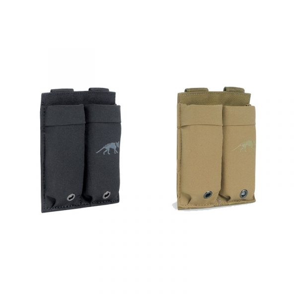 tasmanian tiger double low profile pistol magazine pouch - all