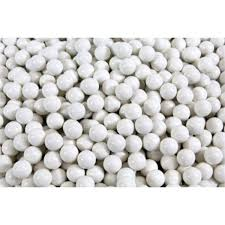 What are airsoft bbs made from?