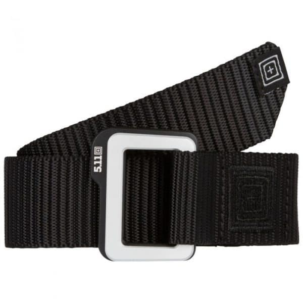 5.11 traverse double buckle belt black