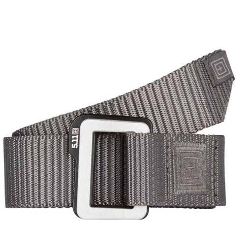 5.11 traverse double buckle belt storm grey