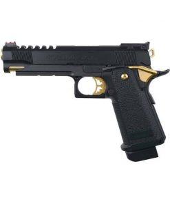 tokyo marui hi capa 5.1 gold match gas blowback pistol