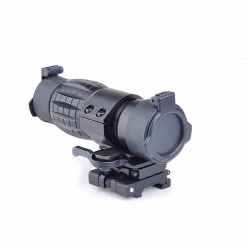 aim-o et style 4x magnifier with flip to side mount 4