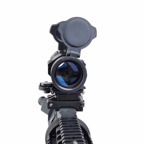 aim-o et style 4x magnifier with flip to side mount 5