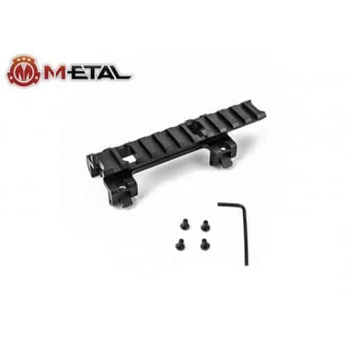 m-etal mp5 rail mount long 2