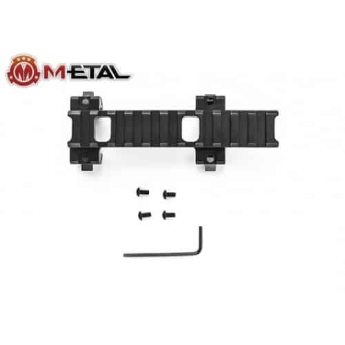m-etal mp5 rail mount long 1