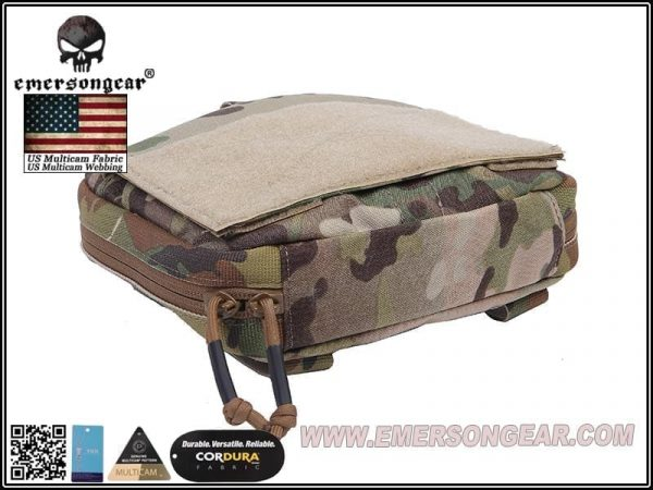 emerson gear large edc pouch - multicam 4