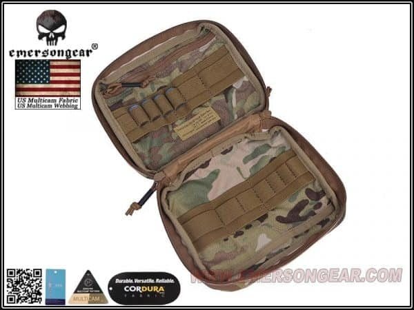 emerson gear large edc pouch - multicam 3