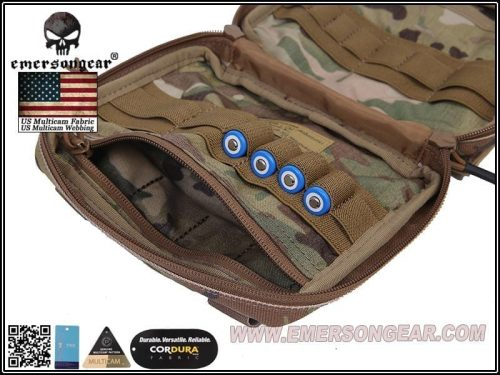 emerson gear large edc pouch - multicam 1