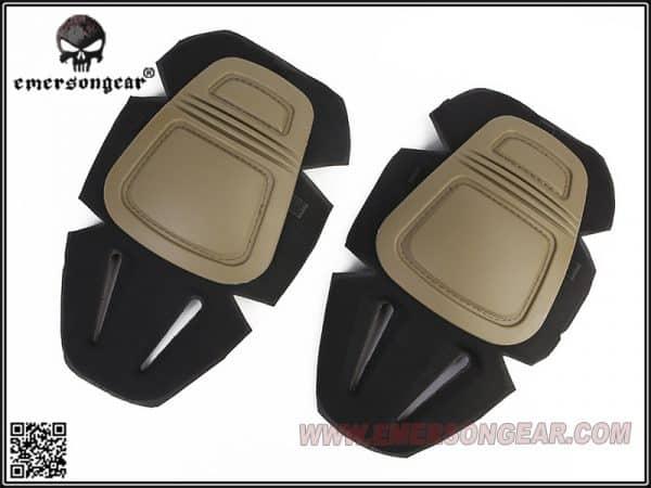 emerson gear knee pads tan 1