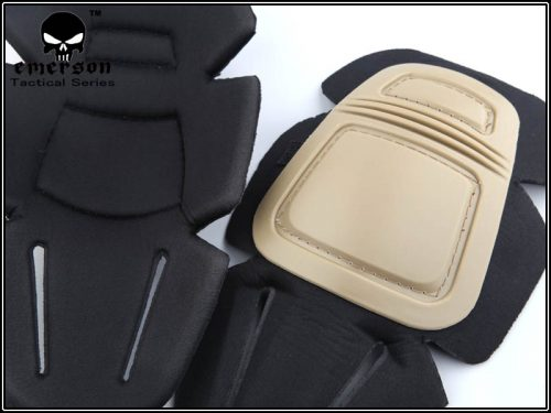 emerson gear knee pads tan 3