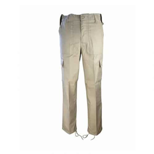 kombat uk khaki combat trousers front