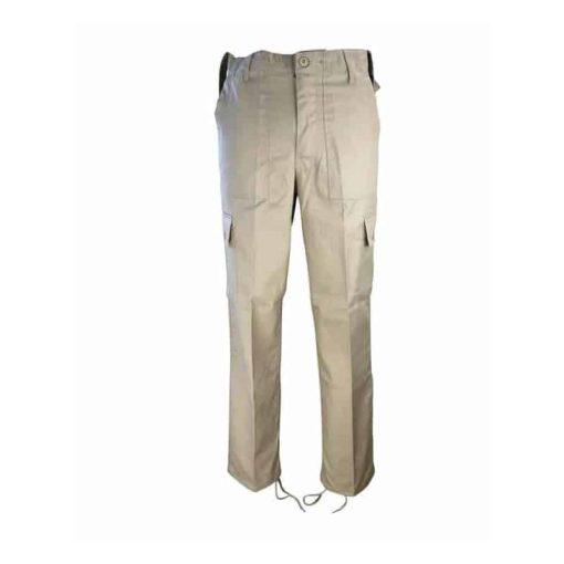 kombat uk khaki combat trousers front