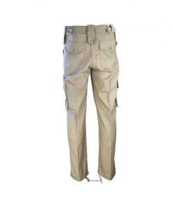 kombat uk khaki combat trousers back