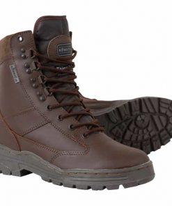 kombat uk leather patrol boot brown main