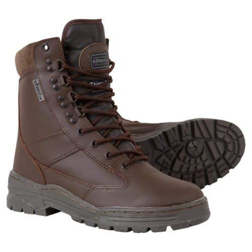 kombat uk leather patrol boot brown main