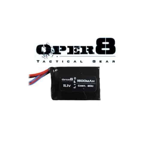 Oper8 11.1V Lipo block 1500MAH battery