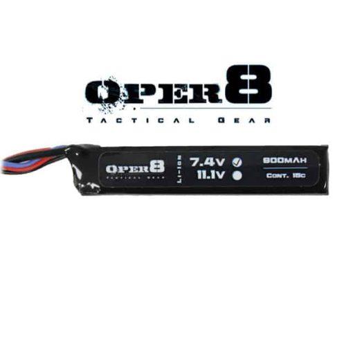 Oper8 7.4V 900MAH Mini Lipo