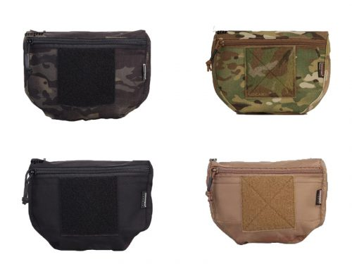 emerson gear plate carrier front drop pouch