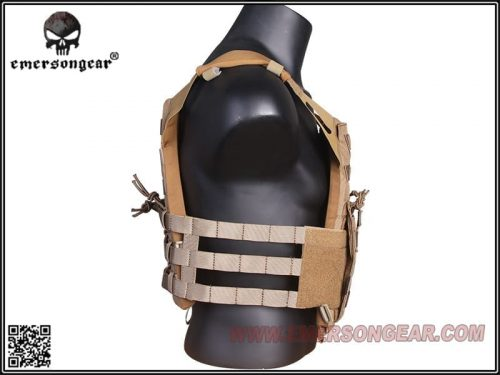 emerson gear jump plate carrier - coyote brown 3