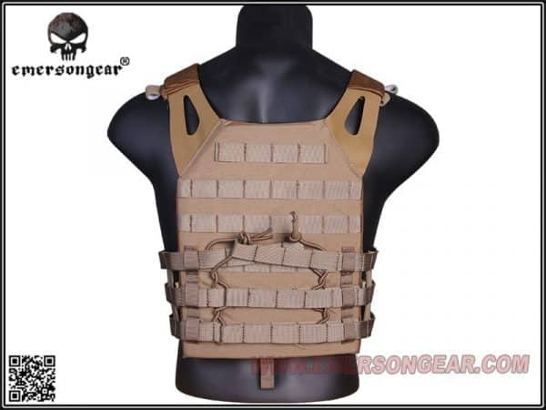 emerson gear jump plate carrier - coyote brown 2