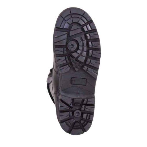 kombat uk leather patrol boot black sole