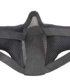 oper8 small slimline lower mesh mask black back