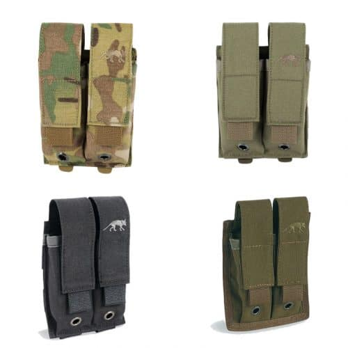 tasmanian tiger double pistol magazine pouch - all
