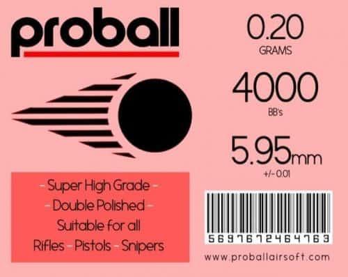 proball 0.20g bbs 4000
