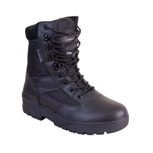 kombat uk leather/cordura patrol boot single
