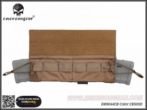 emerson gear side-pull back-up magazine pouch - coyote brown 3