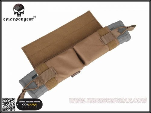 emerson gear side-pull back-up magazine pouch - coyote brown 4
