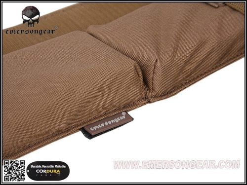 emerson gear side-pull back-up magazine pouch - coyote brown 2