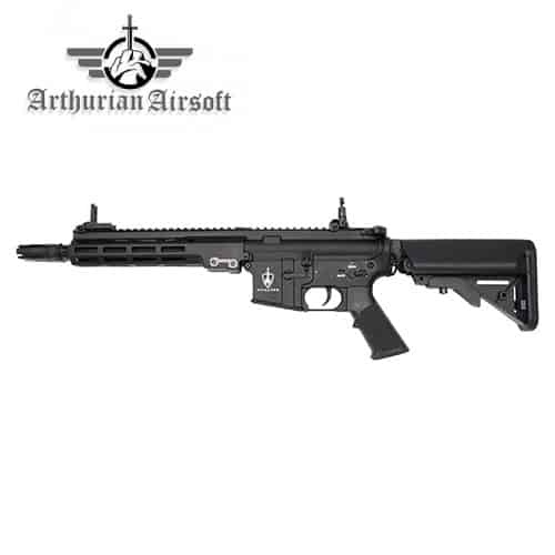 arthurian airsoft excalibur sabre blackout - airsoft m4