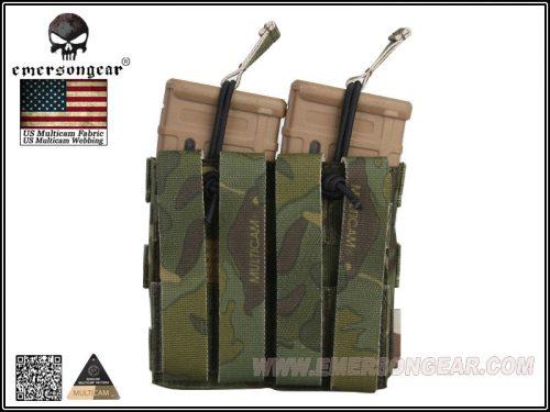 emerson gear double open top 5.56 pouch - multicam tropic 2