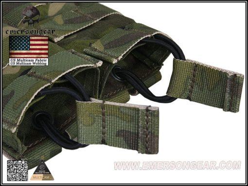 emerson gear double open top 5.56 pouch - multicam tropic 4