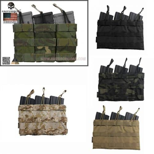 emerson gear triple open top mag pouch
