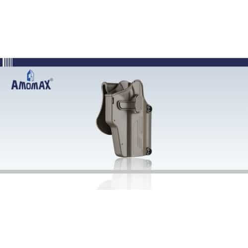 amomax per-fit multi-fit-holster universal holster dark earth
