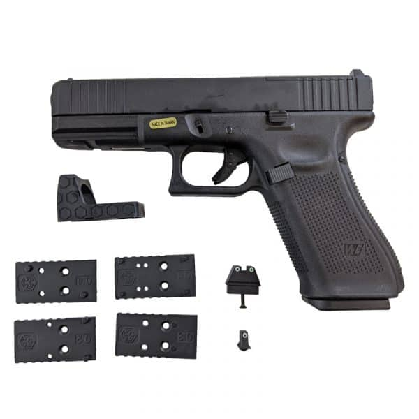 we g17 gas blowback pistol gen 5 main