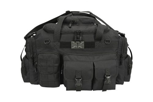 kombat uk saxon holdall 65L black 2