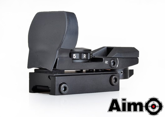 Aim-O Multi-Reticle Red/ Green Dot Reflex Sight