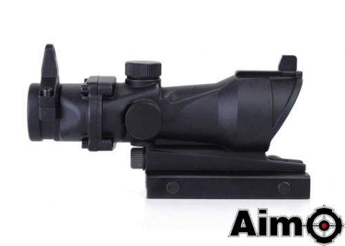 Aim-o 1x32 Acog style red and green dot airsoft sight