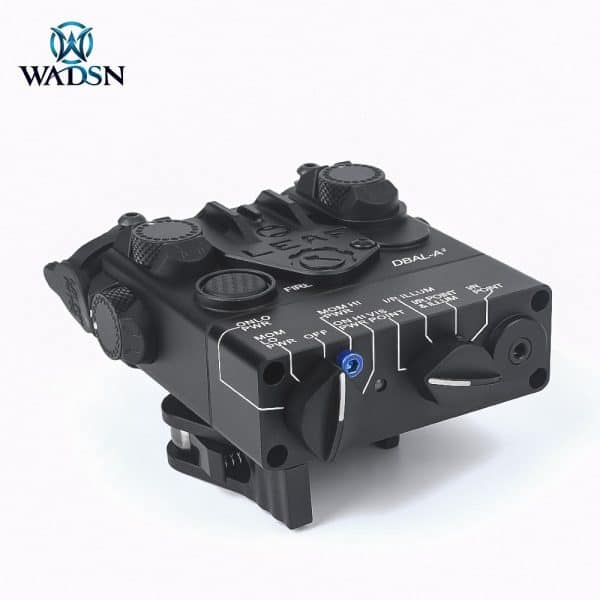 Wadsn DBAL-A2 With Red Laser and IR and white light (Metal)